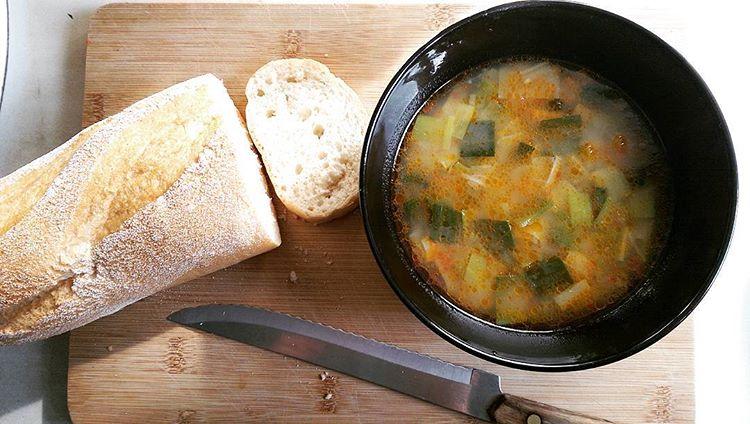 Leek stew